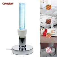 Base de la lumière ultraviolette E27 d'ampoule de lampe d'ozone de stérilisation germicide de Quartz UVC pour désinfecter le désodorisant bactérien de tuer des acariens