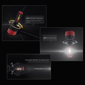 Image 4 - MINI CANBUS healight h4 led h11 h1 h3 h7 h11 9005 9006 hb3 hb4 csp chip auto styling lampada scheinwerfer 6000k led automotivo 2PCS