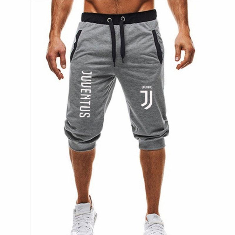 Shorts Mens Bermuda Summer Jogger Men Shorts Juventus Letter Print Male Brand Men's Short Casual Fitness Shorts M-3xl