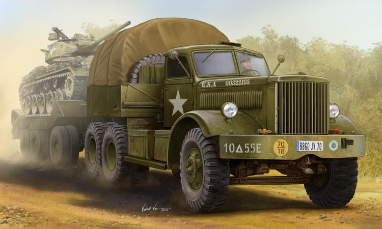 trumpeter merit 63501 1/35 scale U.S.M19 Tank Transporter with Hard Top Cab шампунь kao merit