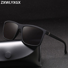 Fashion Sunglasses men Square sun Glasses Brand Designer UV4