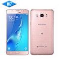 """Оригинальный Samsung Galaxy J7 J7108 (2016) мобильный телефон Dual SIM 5.5 """"дюймов 16 ГБ ROM 3 ГБ RAM окта-ядерный 3300 мАч 4 Г LTE Смартфон"""