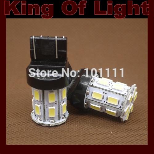 2x 7443 20smd 5630 5730 car led T20 W21/5W 20 LEDS SMD brake parking lignt Free shipping