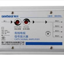 AC 220 В 1 в 4 из CA ТВ усилитель 30 дБ регулируемый кабель ТВ антенна усилитель сигнала 45 МГц до 860 МГц 2 Вт