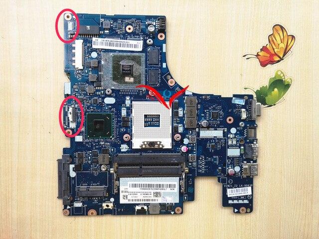 Viwz1_z2 la-9063plaptop motherboard para lenovo ideapad z500 notebook placa de sistema pc.