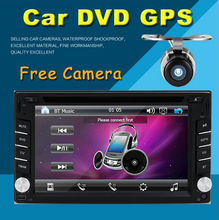 Free Rear Camera 6.2 Inch Car Radio Double 2 din Car DVD Player GPS Navigation Car PC Head Unit Video Music Player Free GPS map