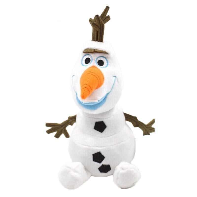 Kawaii 23/30cm peluche de olaf peluche olaf muñeca de nieve sven Reno brinquedos muñecos de peluche de juguete para niños regalo de Navidad