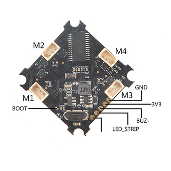 Beecore_BL F3 1S Brushless Flight Controller Integrated with ESC and OSD Flight Control for FPV Racing Drone Quadcopter f cloud new arrivals matek f405 wing with osd f4 flying wing available for flight control