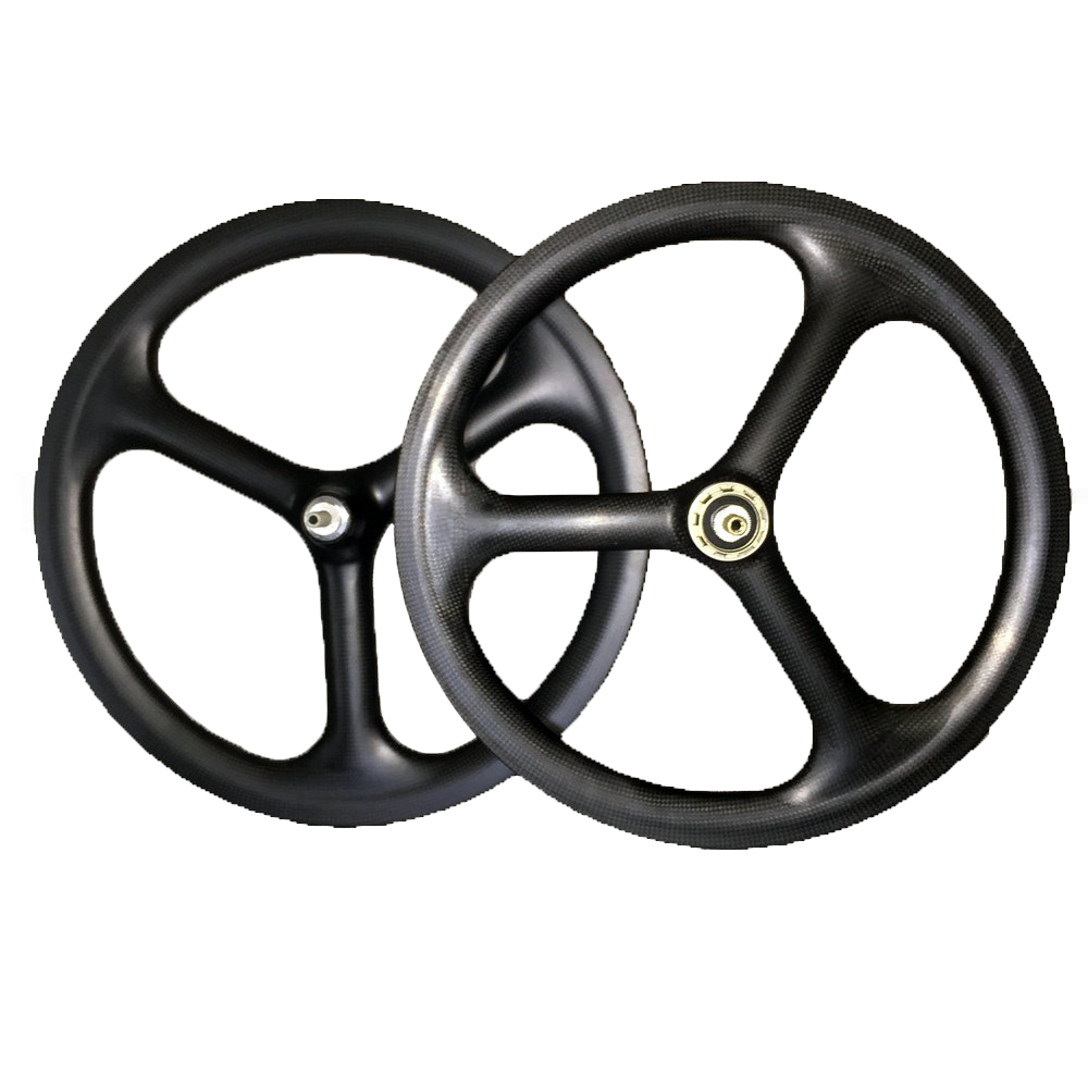 SEMA High Quality Carbon Wheel Lifetime Warranty 16 inch  3spoke front rim with  carbon rims cycling wheels super light