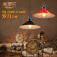 Дизайнер ЛОФТ стиль ретро производственно-складской СВЕТОДИОДНЫЕ лампы бар подвесной светильник лампы cockran