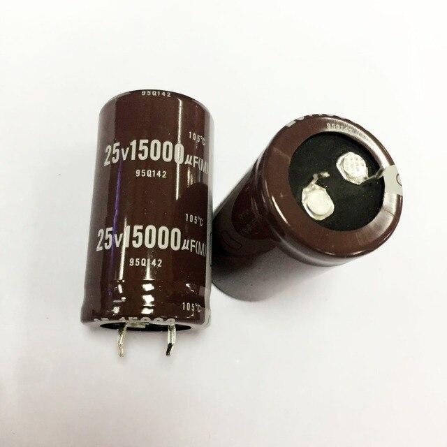 25v 15000uf קבל אלקטרוליטי רדיאלי 15000UF 25V 25x45mm (10pcs)