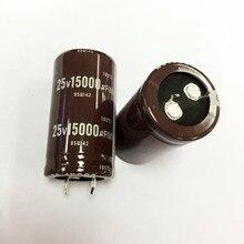 25v 15000uf 電解コンデンサラジアル 15000uf 25v 25 × 45 ミリメートル (10 個)