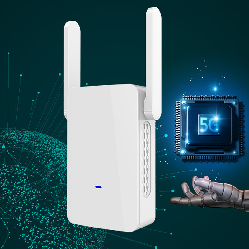 1200M Wireless Repeater 5.8G High Power Dual Band WiFi Signal Range Amplifier Router LCC771200M Wireless Repeater 5.8G High Power Dual Band WiFi Signal Range Amplifier Router LCC77