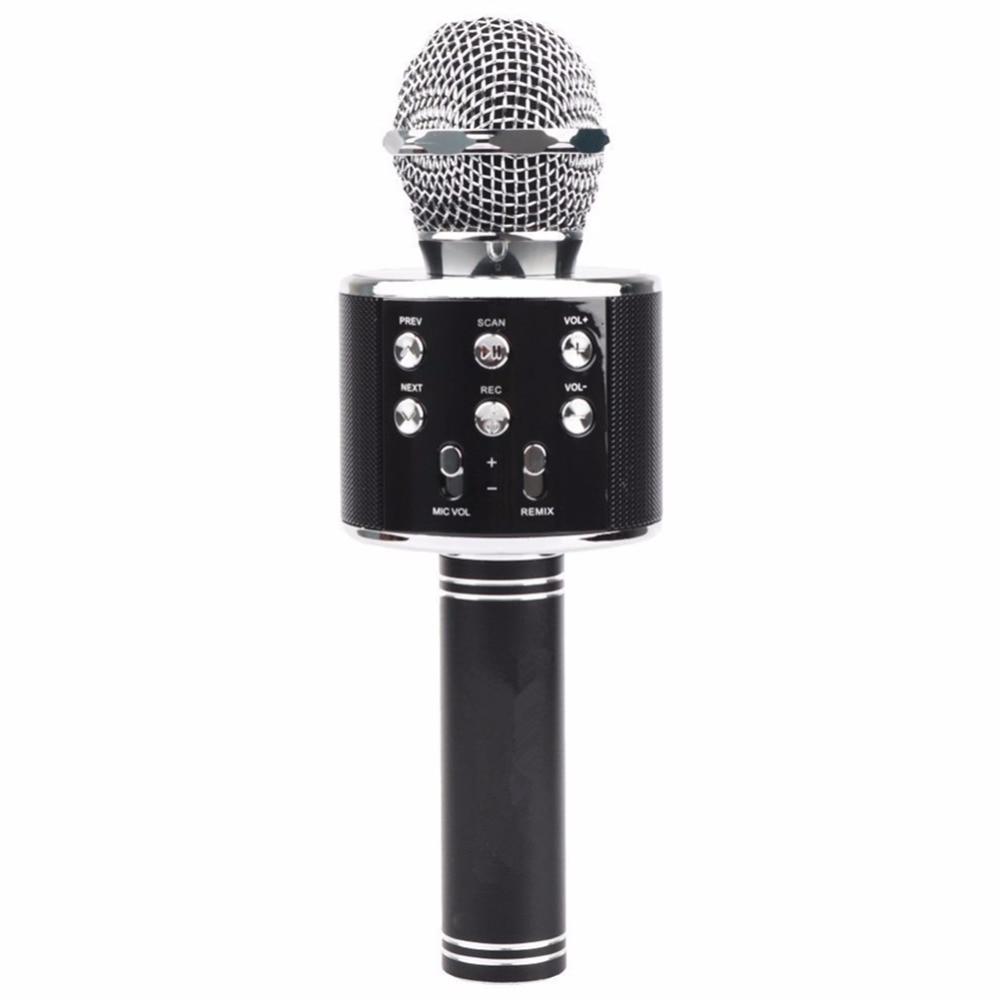 Handheld Wireless Microphone With Bluetooth Speaker : wireless bluetooth karaoke ws858 microphone speaker portable handheld mic speaker machine ~ Russianpoet.info Haus und Dekorationen