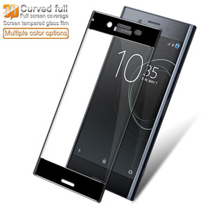 Image 2 - for Sony Xperia XZ Premium G8141 G8142 3D Curved Full Cover Tempered Glass for Sony XZ Premium Dual Sim RONICAN Screen Protector