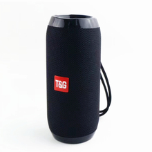 OUTMIX HIFI Portable Bluetooth Speaker 10W Wireless Stereo Column Fabric Subwoofer Speakers Support TF card FM Radio USB AUX цена и фото