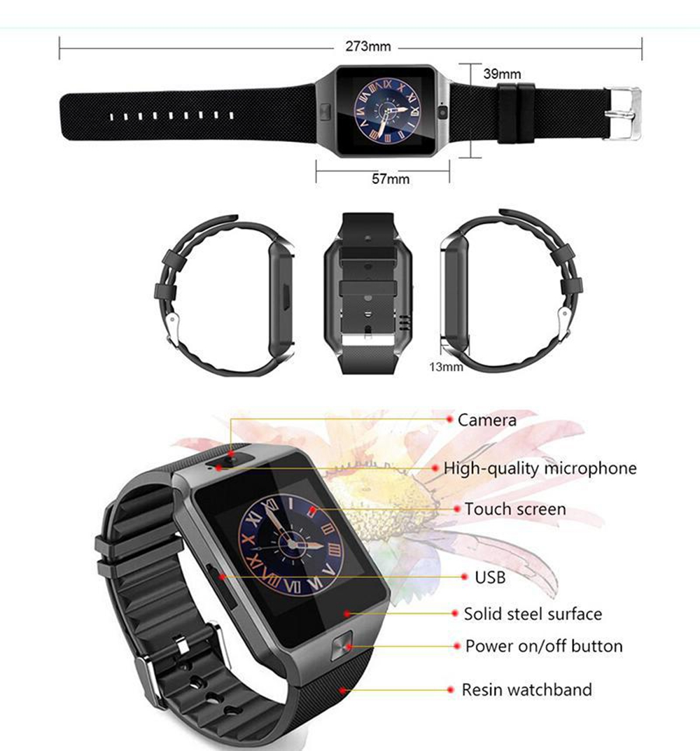 DZ09 Smart Watch DZ09 006