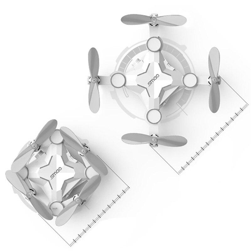 Fashion Mini font b Drone b font M1HS Mini Foldable 2 4G 4CH 6Axis RC Quadcopter