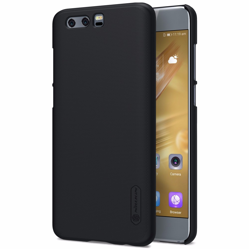 size 40 779d7 e3df8 US $7.99 5% OFF|sFor Huawei honor 9 cover Huawei honor 10 cover NILLKIN  Frosted Shield case Huawei honor 10 back case with retail package-in ...