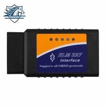 Профессиональный Диагностический Инструмент OBD2 OBD-II ELM327 ELM 327 V1.5 Bluetooth Автомобилей Диагностический Интерфейс Сканера Работает На Android