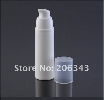 30ml white airless vacuum pump lotion bottle used for Cosmetic Container