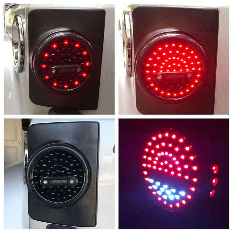 Пара светодиодный задний фонарь задний бампер свет для парковки задом задний тормоз задний фонарь лампа 2007 ~ 2016 для Jeep Wrangler JK