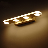 LED Wall Lamp Mirror front lamp Mirror Front Wall Lights simple modern bathroom makeup mirror toilet Bedroom lw48546