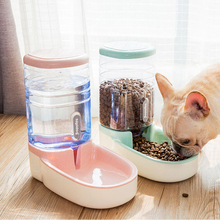 3.8L Dog Automatic feeders plastic water bottle for cat bowl feeding and drinking dog dispenser cats bowls