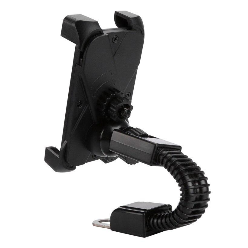 Мотоцикл Универсальный Регулируемый скутер крепление подставка держатель для сотового телефона GPS Прямая поставка 0704