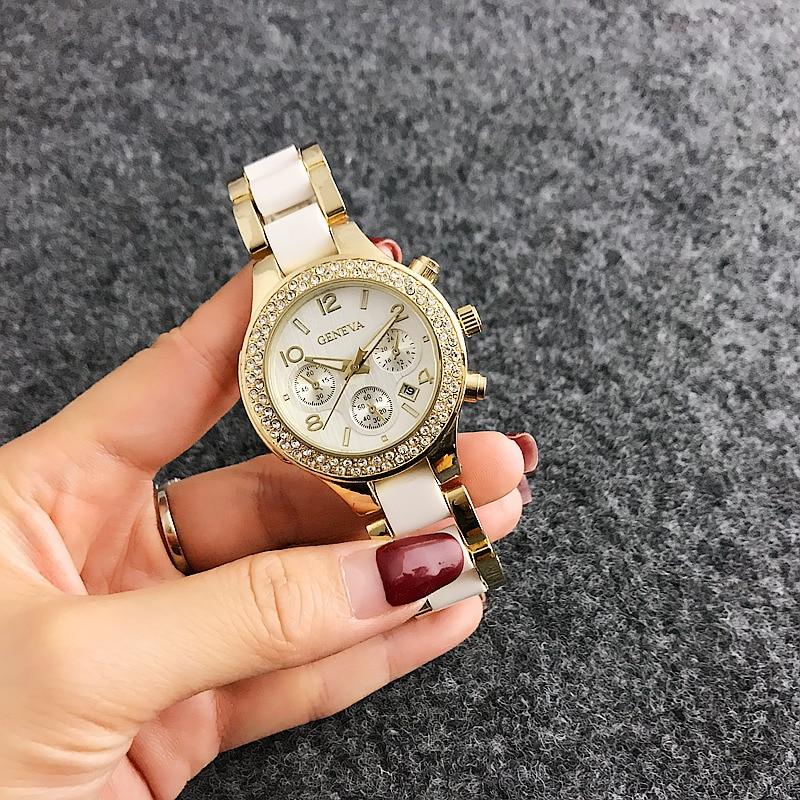Top Brand Women Luxury Rose Guldklockor Ladies Quartz Armbandsur - Damklockor - Foto 5