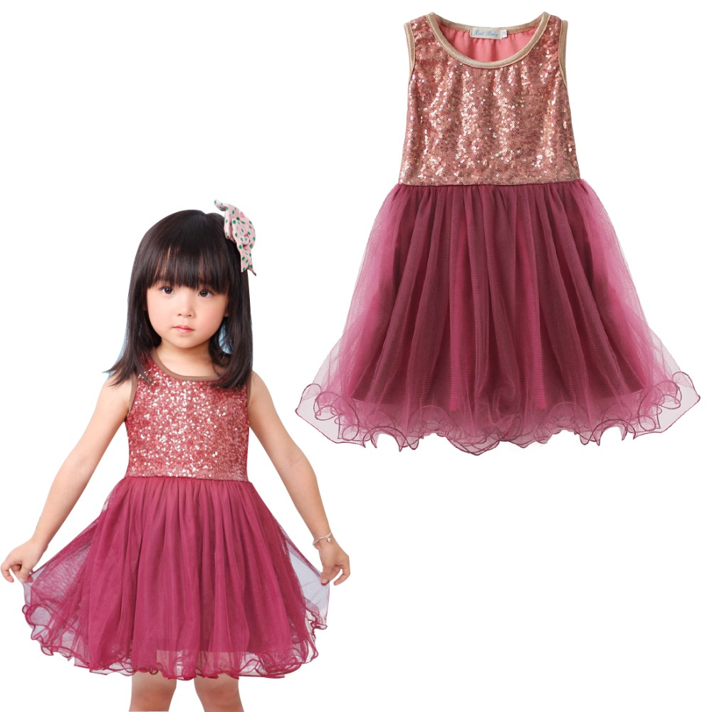 Aliexpress.com : Buy IEFiEL Baby Girls Sequined Sleeveless