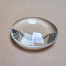 90mm Large K9 Optical Glass  Biconvex Focal Length 240mm Optics Double Convex Lens Magnifiying Glass 3x Magnifier Lens 1pc 60mm dia optical glass focal length 216mm doublet optics achromatic double convex lens for astronomic telescope objective