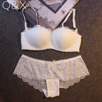 b5c01f5d7f BS4 Bra brief sets sexy bra sets Ultrathin and transparent sexy lace  embroidery underwear sets girl