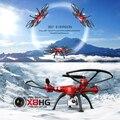 Syma x8hg quadcopter con cámara de 8mp alta hold modo headless modo barómetro set altura 6-axis gyro rc quadcopter rc avión
