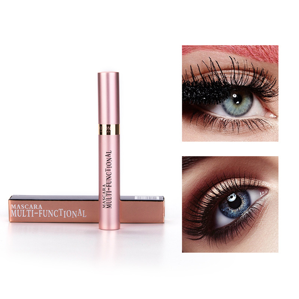 3D Schwarz <font><b>Mascara</b></font> Falsche Wimpern Colossal Volume Express Make-Up Augen Dick Länge Curling Wasserdicht False Lash <font><b>Mascara</b></font> TSLM1 image