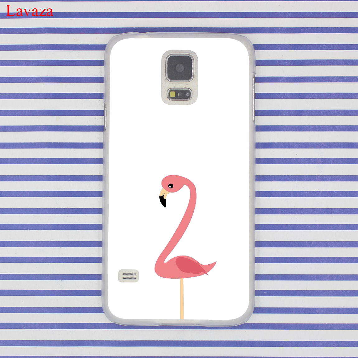 Lavaza Lips Flamingo Flamingos Themed Pool Party Phone Cover Case for Samsung Galaxy S7 S6 Edge S3 S4 S5 & Mini S8 S9 Plus Case