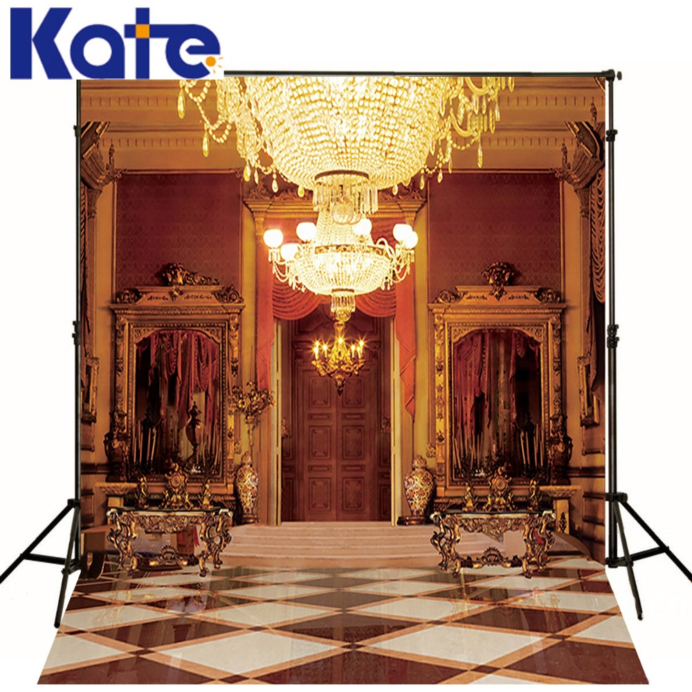 Kate Digital Printing Indoor  Photography Backdrop Retro Chandelier Backdrops  Photo Studio Background For Wedding 1pc 150w 220v 5500k e27 photo studio bulb video light photography daylight lamp for digital camera photography