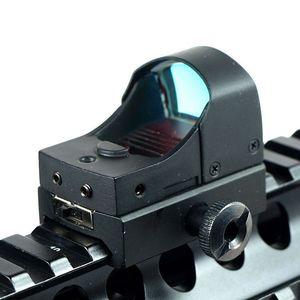 Image 2 - GUGULUZA Red Dot Sight Scope Tactical Mini Compact Holographic Adjustable Brightness Micro Reflex Red Dot Light Rifle Pistol