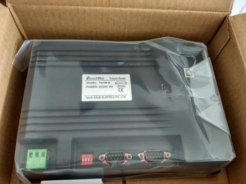 Sensível ao Toque Novo na Caixa Touchwin Tela Polegada 800*480 Th765-n Hmi 7