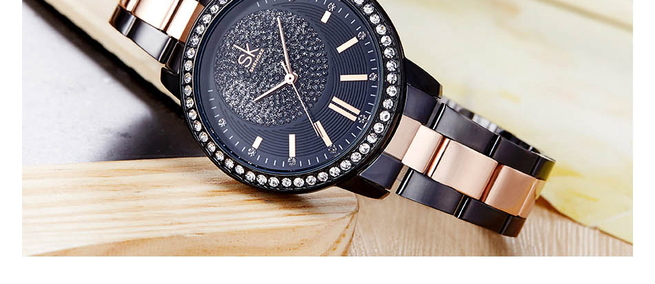 Shengke Rose Gold Quartz Ladies Watch HTB139kucmtYBeNjSspkq6zU8VXaQ Ladies watch