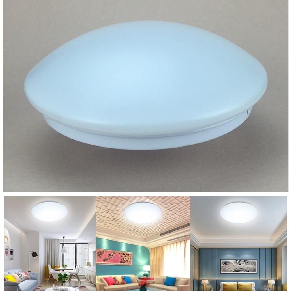 LumiParty 85-265V LED Round Shape Ceiling Light Lamp For Living Room Light Fixture Indoor Lighting
