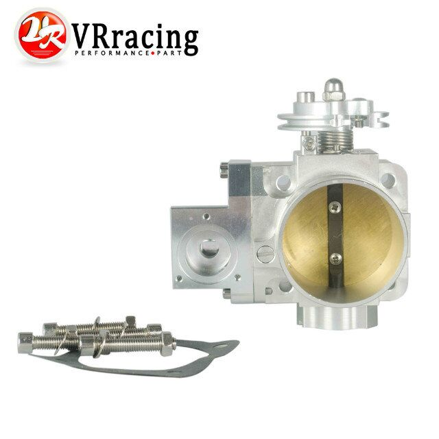 VR RACING FREE SHIPPING NEW THROTTLE BODY FOR EVO 4G63 70mm CNC Intake Manifold Throttle Body