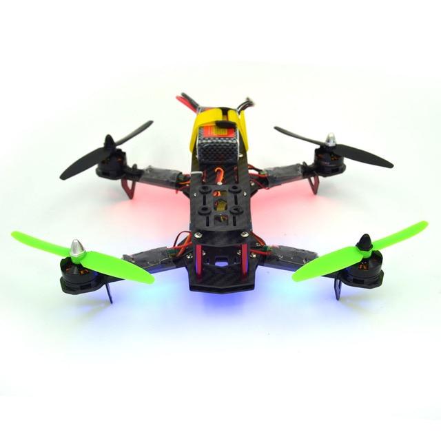 qav250 kit RTF quadcopter Frame QAV 250 Racing CC3D Flight Controller MT2204 2300KV Motor Simonk fpv12A ESC 5030 propeller AT9s