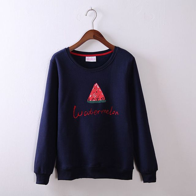 Newest Women Sweatshirts Autumn Winter Long Sleeve Simple Clothes ...