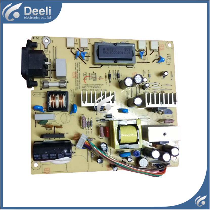 Working good 95% new original for Power board W2007 HSTND-2281-L 6832177300P02 PTB-1773 95% new good working original for jsi 460201 lcd 46g120a power board runtka722wjqz good working
