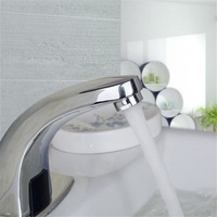 Bathroom Automatic Sensor Basin Faucet Electronic Hands Single Cold Hot Water Touchless Sensor Faucets Sensor Faucet