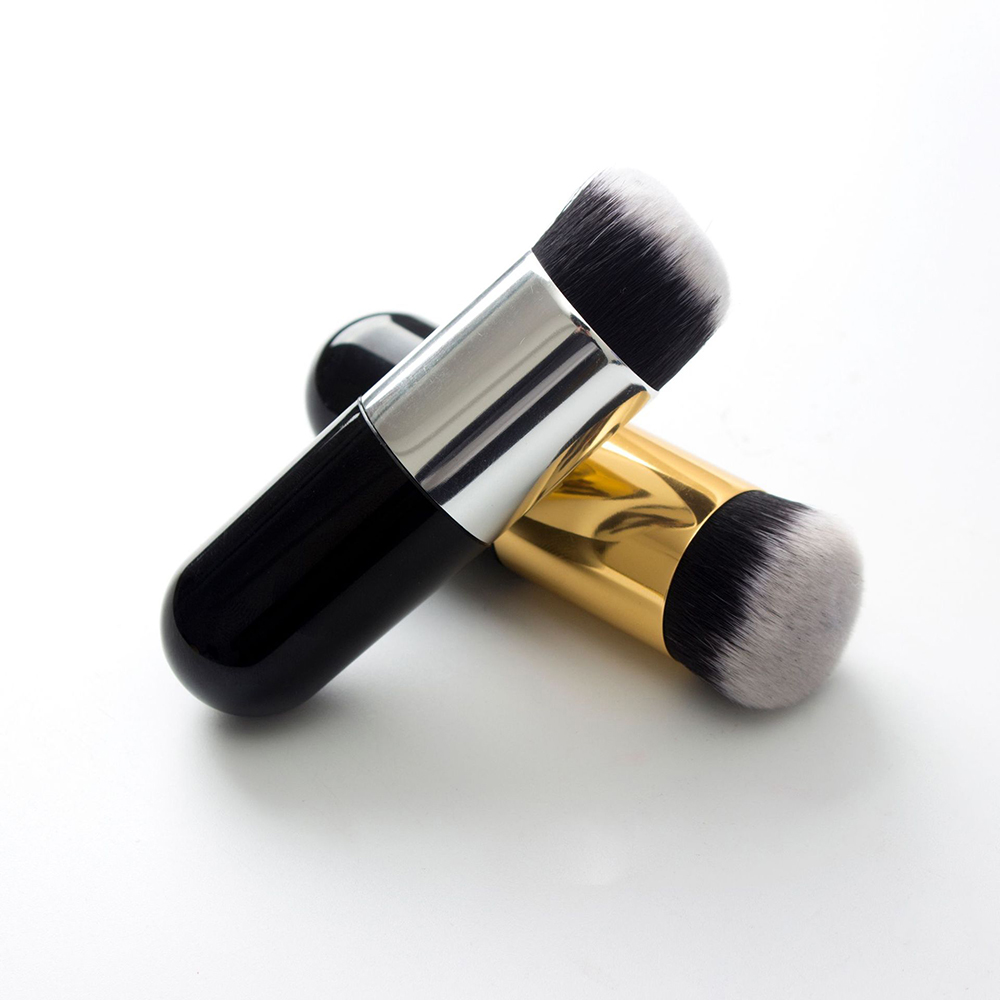 New Professional Makeup Brush Chubby Pier Foundation Brush Flat Cream Makeup Brushes Professional Cosmetic Make-up Brush 2019