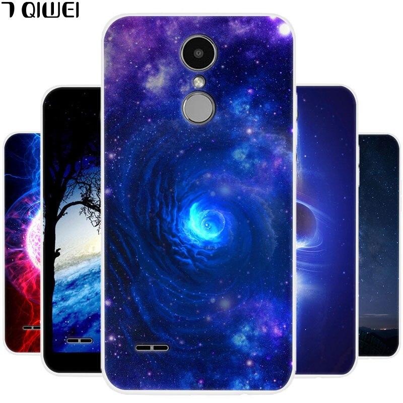 A LGX230 Case For LG K7 2017 Case Silicone Soft TPU Phone Case For LG K7 2017 X230 Case Cover LG-X230 5.0'' Thin Fundas Star