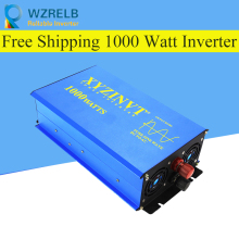 1000w Pure Sine Wave Power Inverter Off-grid Solar Controller Car LED display Battery Charger DC 12V 24V 48V to AC 120V 220V off grid pure sine wave solar inverter 24v 220v 2500w car power inverter 12v dc to 100v 120v 240v ac converter power supply