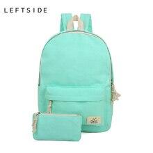 Женщины рюкзак холст женские рюкзаки для школьниц высокое качество милые рюкзак женский школьные сумки для подростков 2017